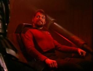 Riker Eat Klingon Food